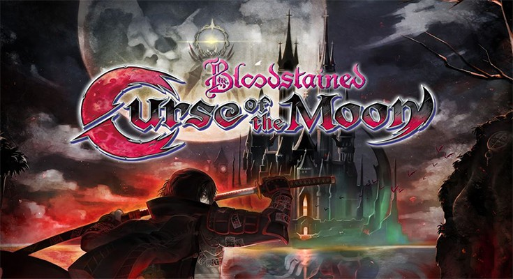 Bloodstained: Curse of the Moon - Banner