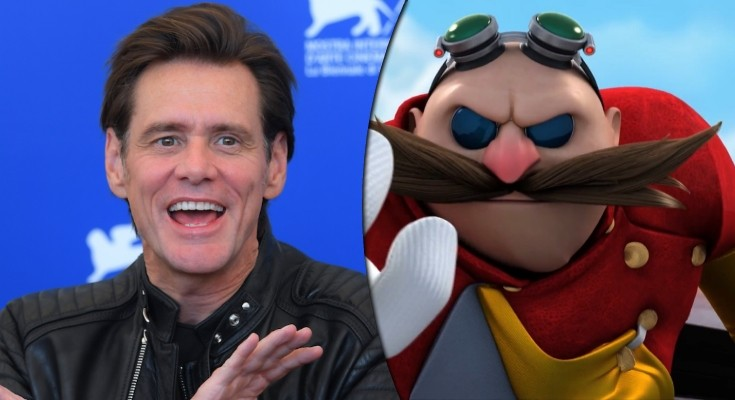 Jim Carrey - Robotnik no Filme do Sonic