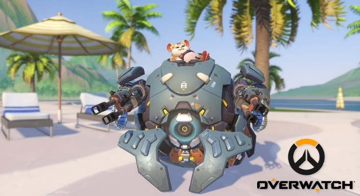 Overwatch - Wrecking Ball - Hammond