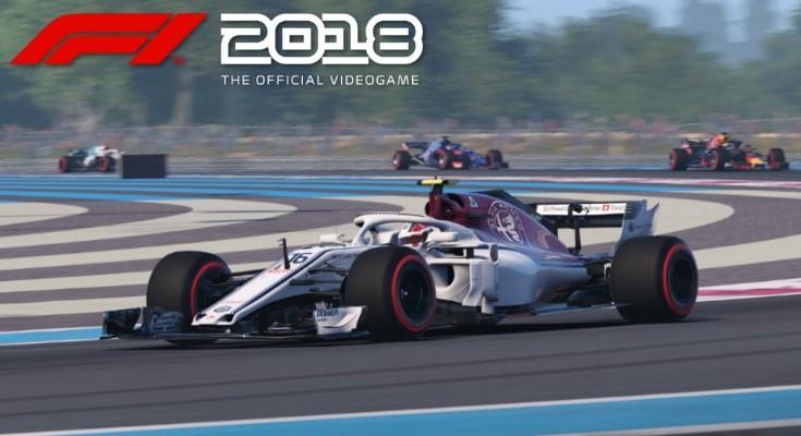 F1 2018 recebe trailer gameplay
