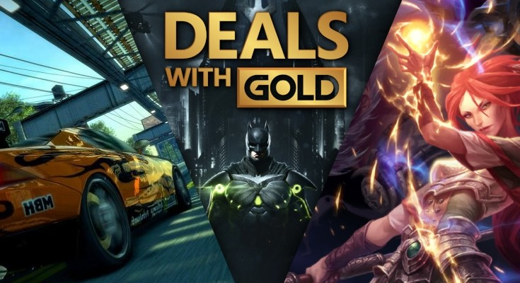 Deals With Gold - De 20 a 27 de agosto de 2018!