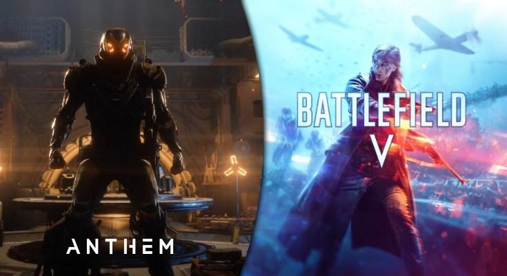 Battlefield V e Anthem não serão dublados