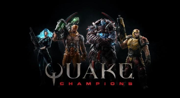 Quake Champions grátis para jogar