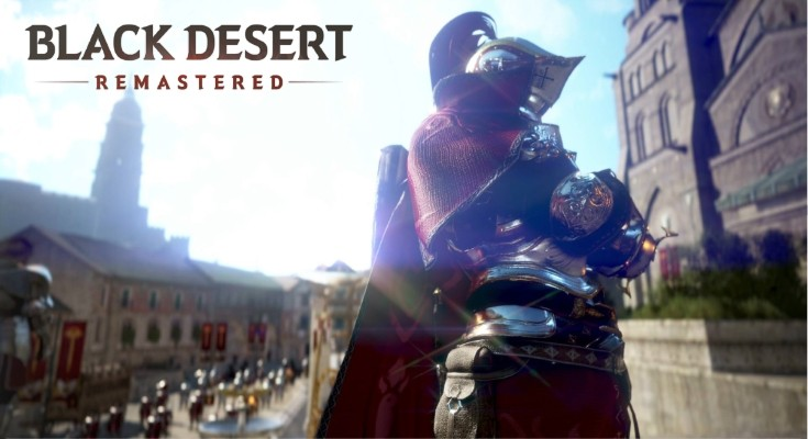 Versão Remasterizada de Black Desert Online