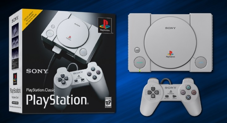 Sony anuncia Playstation Classic, um mini PS1 com 20 jogos na memória!