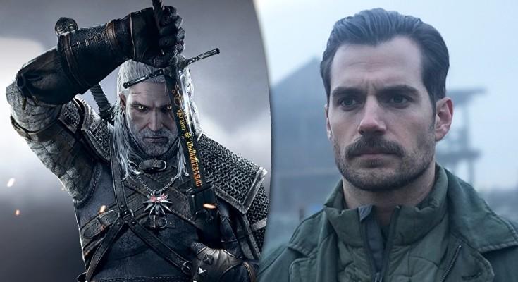 Henry Cavill vai interpretar Geralt de Rivia