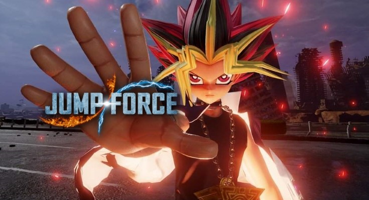 Jump Force recebe novo trailer gameplay mostrando o personagem Yugi!