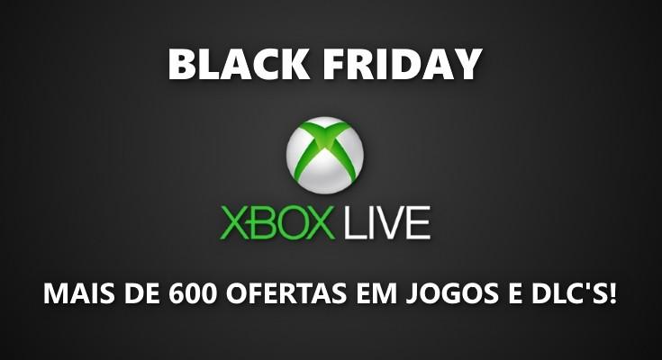 Lista Completa de Ofertas da Black Friday 2018 para a Xbox Live!