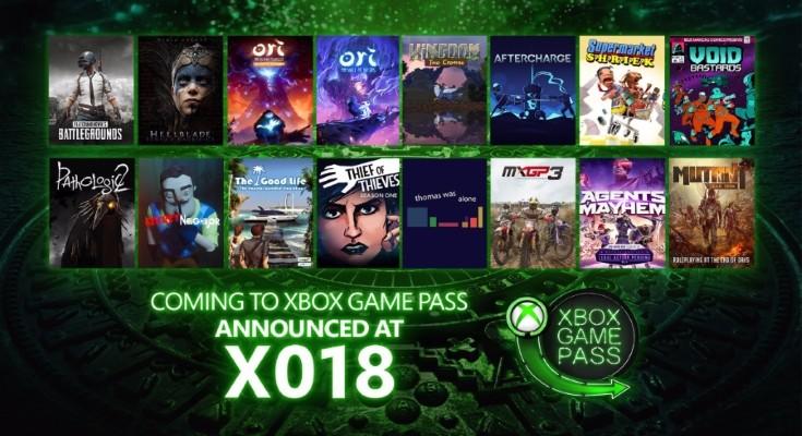 16 novos jogos são anunciados para o serviço Xbox Game Pass!