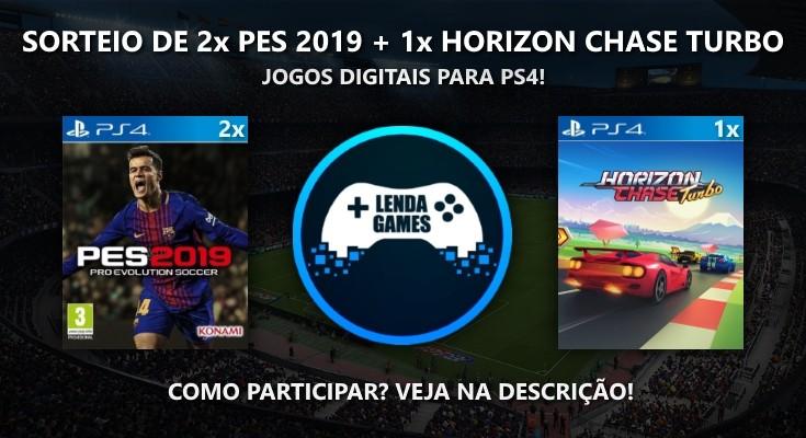 Sorteio de 3 Jogos para PS4 em Mídia Digital!