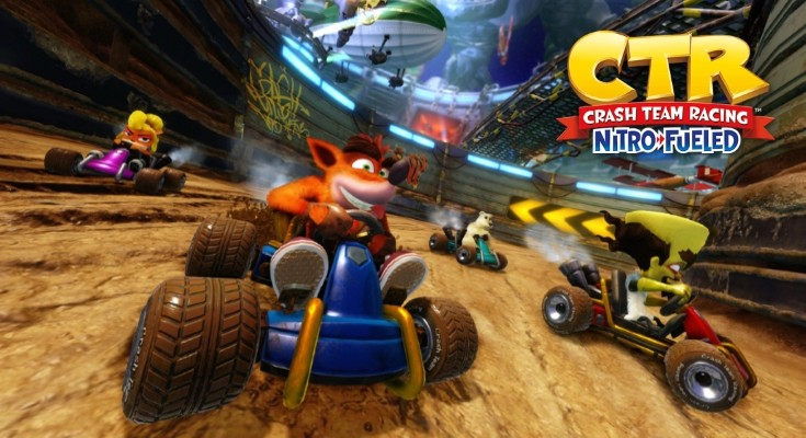 Crash Team Racing: Nitro-Fueled é revelado para Xbox One, PS4 e Switch!