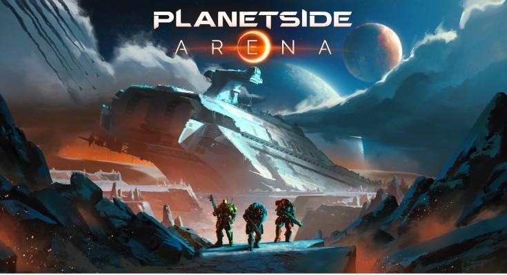 PlanetSide Arena é anunciado e vai contar com combates de 250vs250!