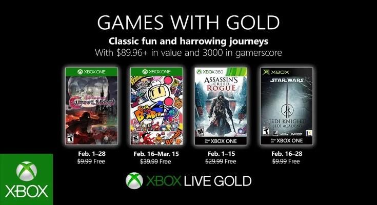 [Games with Gold] Fevereiro de 2019
