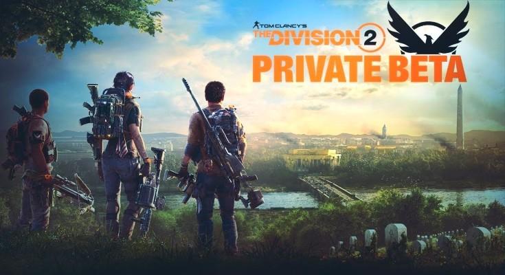 The Division 2 receberá um Beta Privado de 7 a 10 de fevereiro!