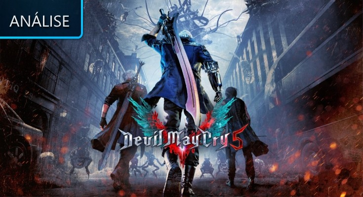 Devil May Cry 5 - Análise - Lenda Games