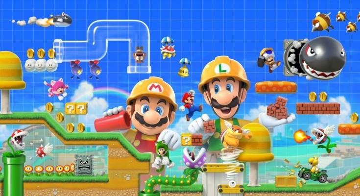 Super Mario Maker 2 será lançado em 28 de junho de 2019!
