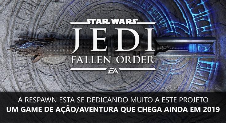 Star Wars: Jedi Fallen Order será revelado neste sábado, 13 de abril!