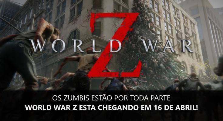 World War Z recebeu o seu trailer de lançamento, confira!