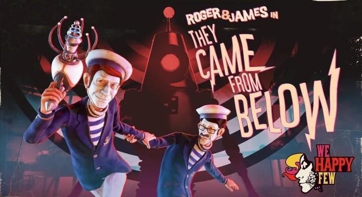 We Happy Few: They Came From Below recebe trailer de lançamento!