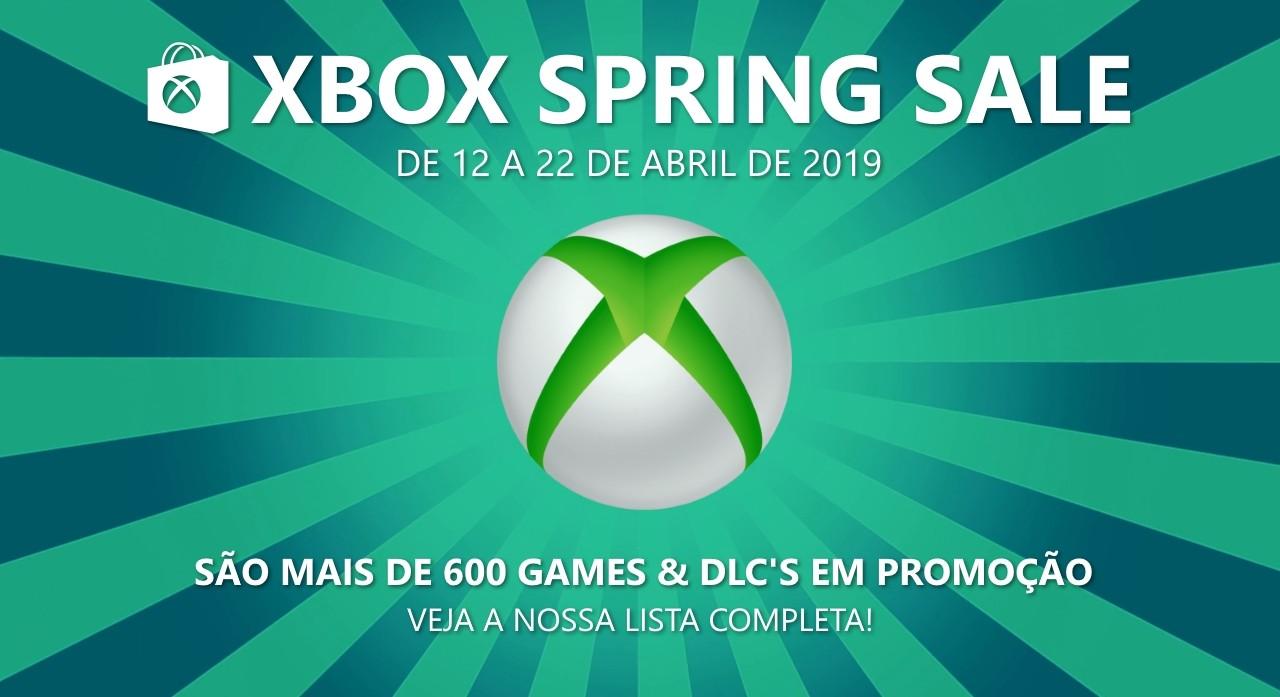 Spring Sale 2019: Lista completa de ofertas para Xbox 360, confira!