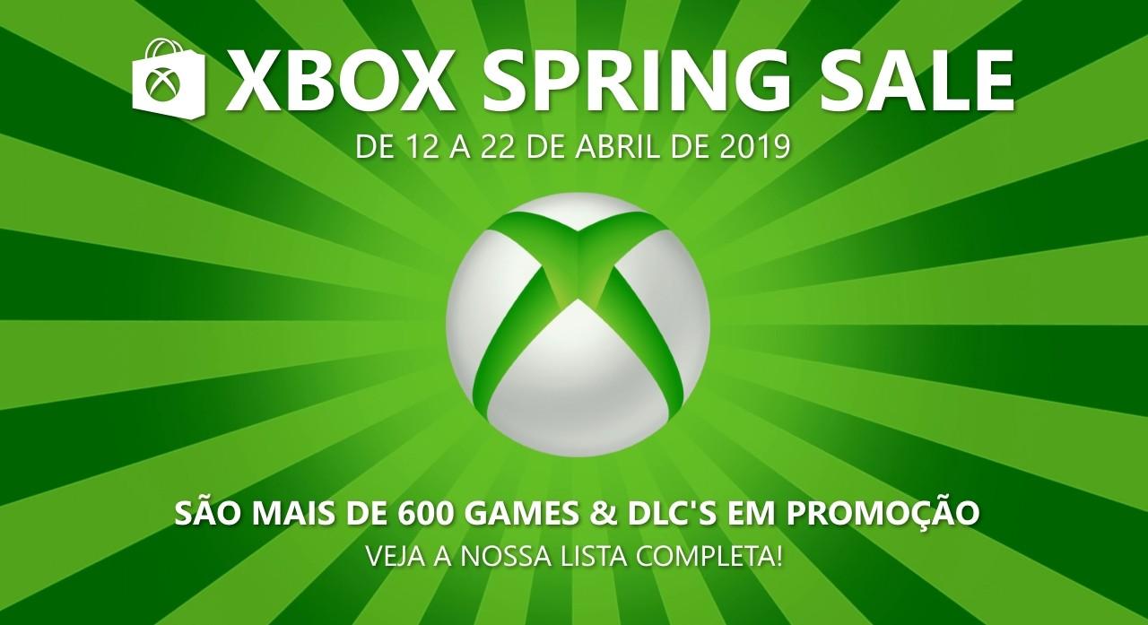 Xbox Spring Sale 2019: Confira a lista completa de ofertas para Xbox Live!
