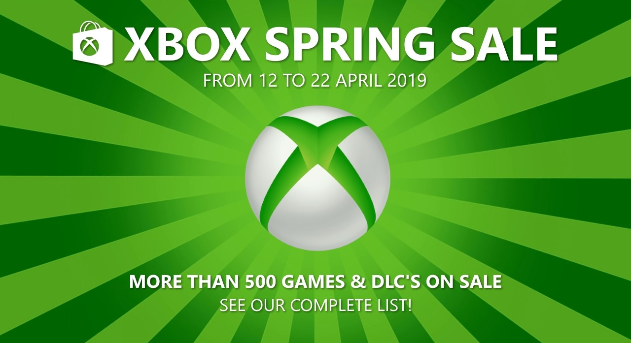 Xbox Spring Sale 2019: See the full list of Xbox Live offers!