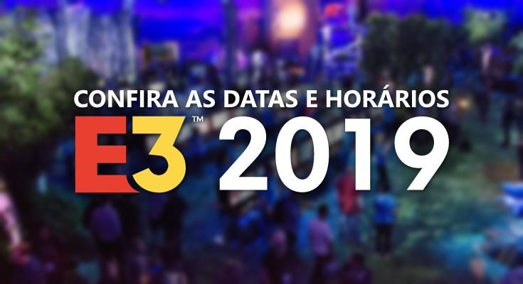 E3 2019: Veja as datas e horários de todas as conferências!