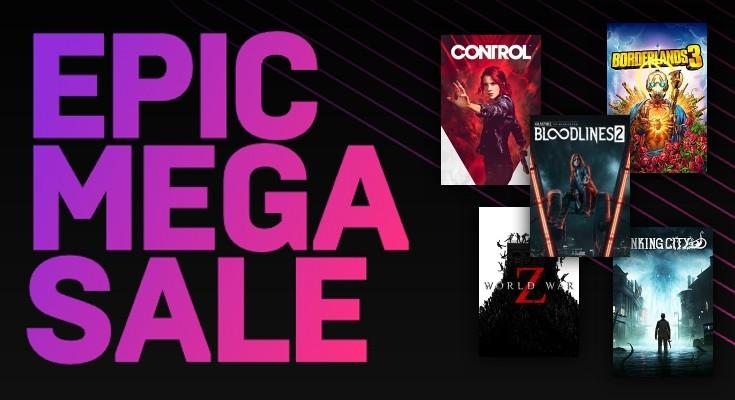 (Epic Mega Sale) Os 20 melhores games em promoção na Epic Store!