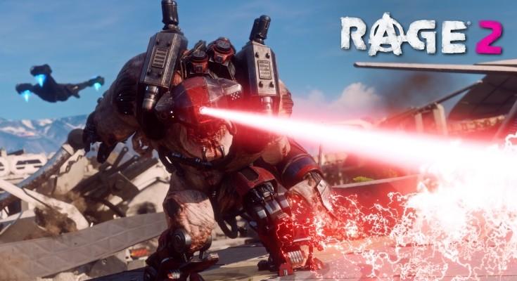 RAGE 2 recebeu o aguardado trailer de lançamento!