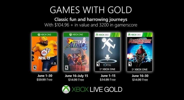 (GwG) Games with Gold - Jogos grátis em Junho de 2019 na Xbox Live!