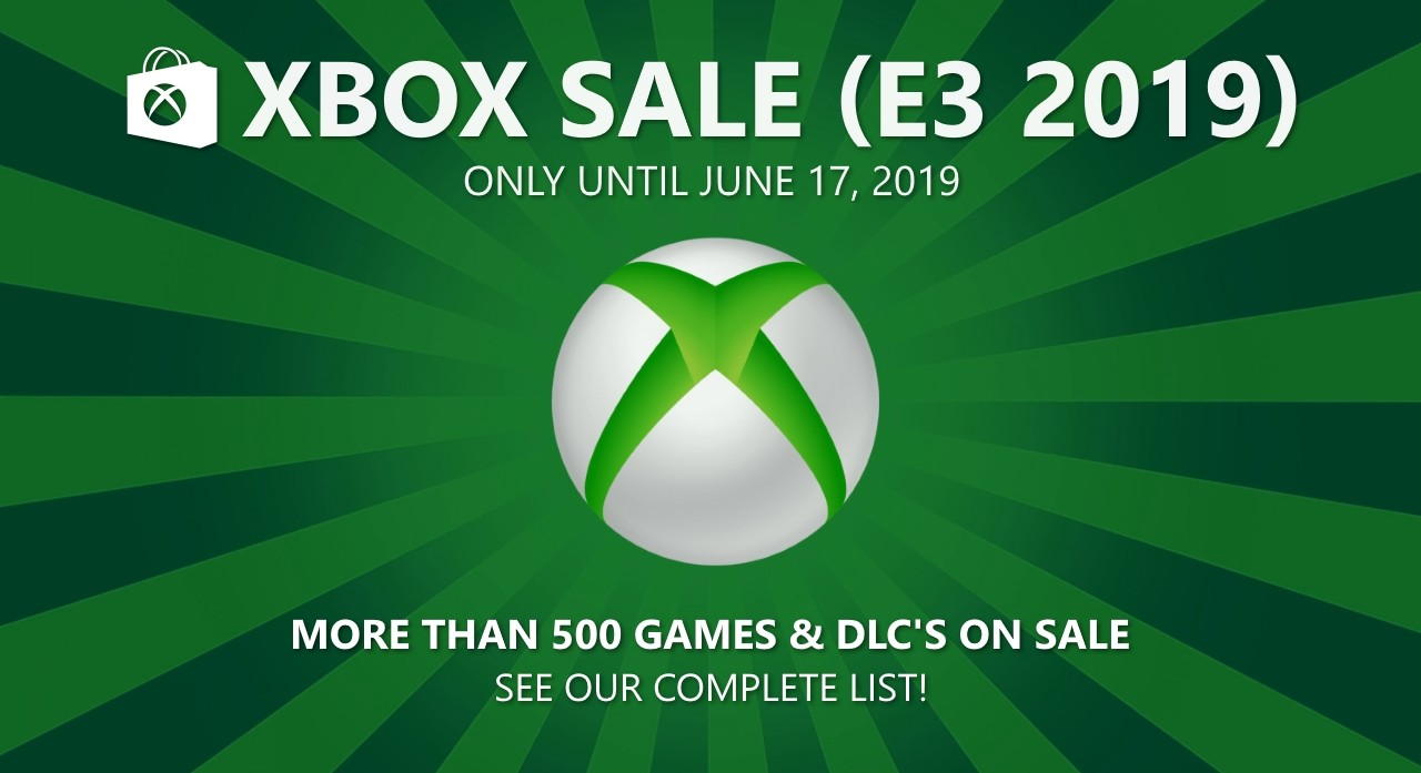 Xbox Sale E3 2019: See the full list of Xbox Live offers!