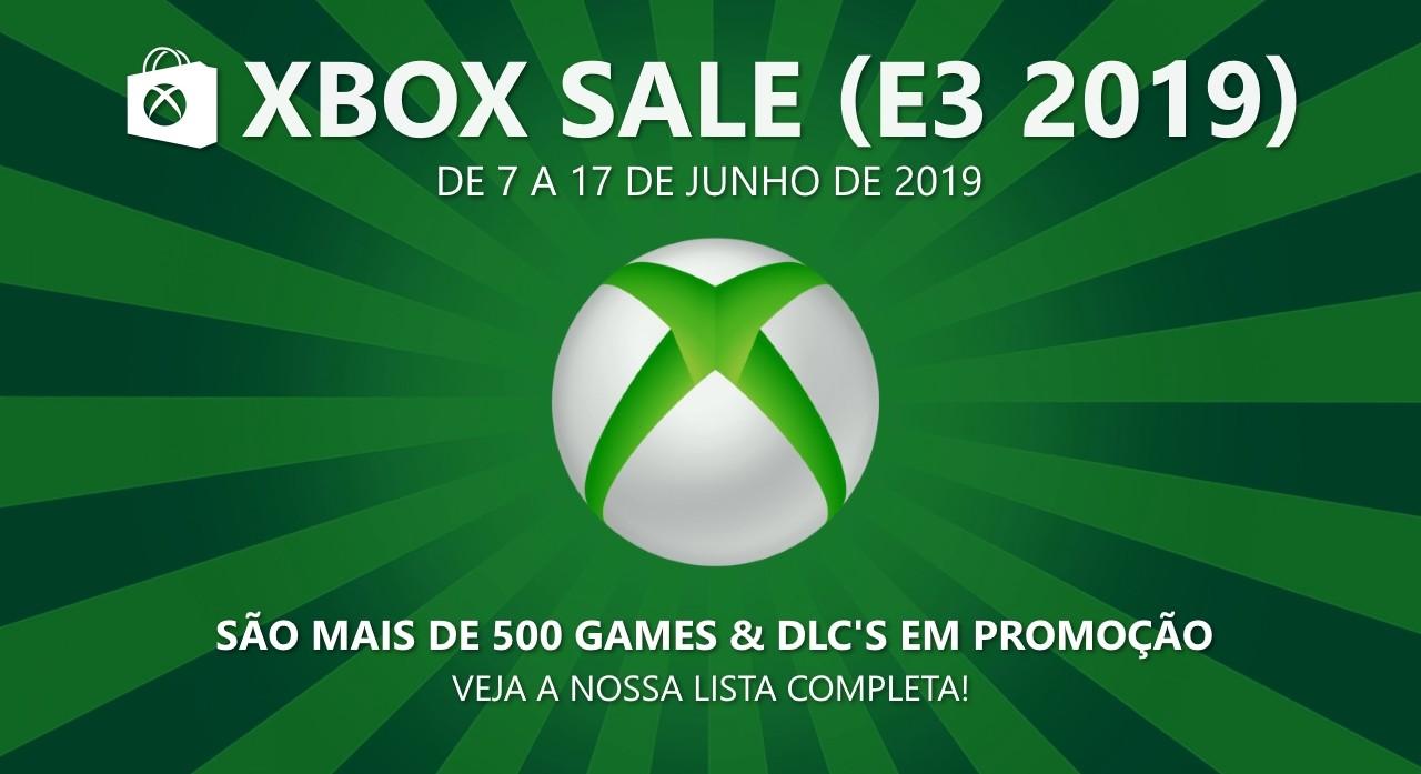 Xbox Sale E3 2019: Confira a lista completa de ofertas para Xbox Live!