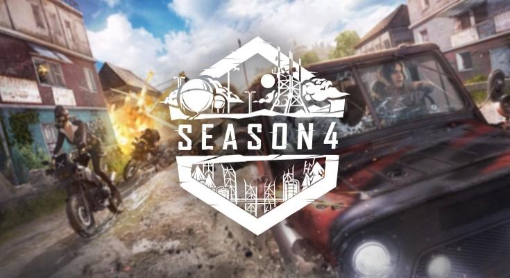 A temporada 4 de PUBG esta chegando em 24 de julho no PC!