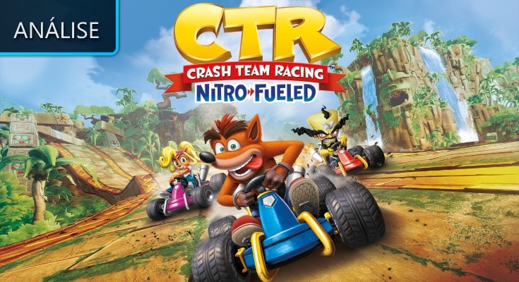 Crash Team Racing: Nitro-Fueled - Análise