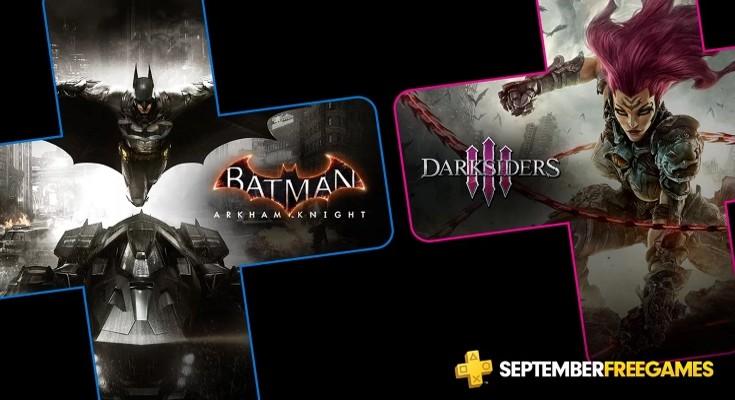 (PS Plus) PlayStation Plus - Jogos grátis em Setembro de 2019!