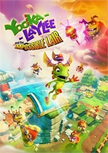 Yooka-Laylee and the Impossible Lair - Capa do Jogo