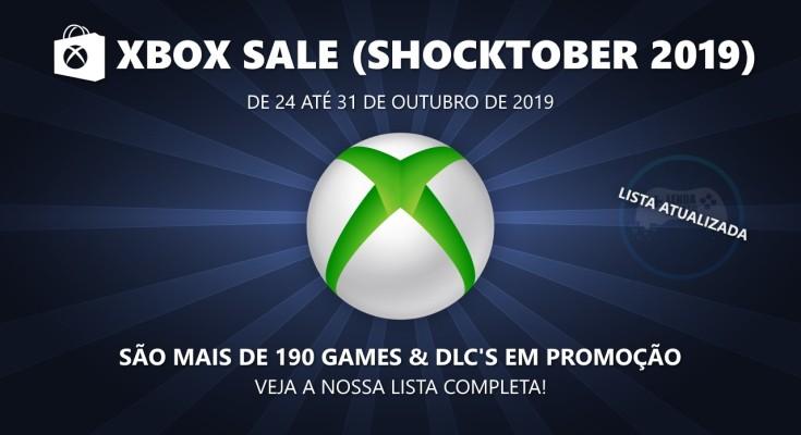 (Xbox Live) Shocktober Sale 2019 - Promoções de 24 até 31 de outubro!