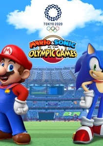 Mario & Sonic at the Olympic Games: Tokyo 2020 - Capa do Jogo