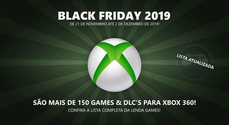 Black Friday 2019: Veja a lista completa de ofertas para Xbox 360!