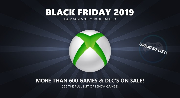 Black Friday 2019: Complete list of offers for Xbox One and 360!