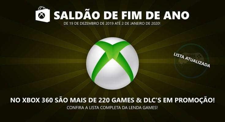 Countdown Sale 2019: Confira a lista completa de ofertas para Xbox 360!