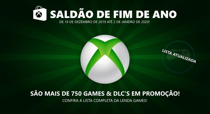 Countdown Sale 2019: Lista completa de ofertas para Xbox One e 360!
