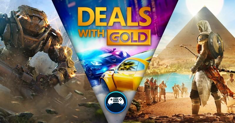 (DwG) Deals with Gold: Ofertas até 24 de Fevereiro de 2020 na Xbox Live!