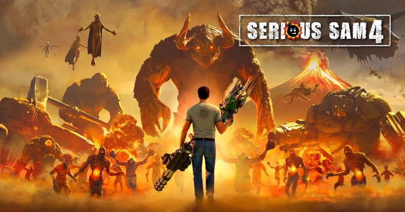 Serious Sam 4 será lançado em agosto no Steam e também no Stadia!