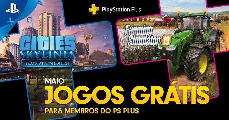 (PS Plus) PlayStation Plus: Jogos grátis em Maio de 2020!