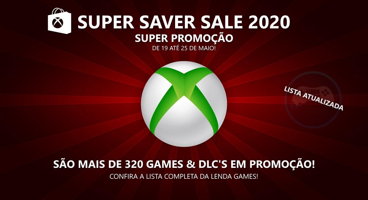 Xbox Live: Super promoção até 25 de maio - Super Saver Sale 2020 - Lista Completa!