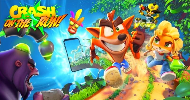 Crash Bandicoot - On The Run: Novo jogo para dispositivos moveis!