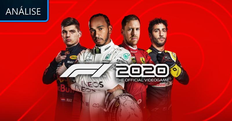 Análise: F1 2020 - Lenda Games