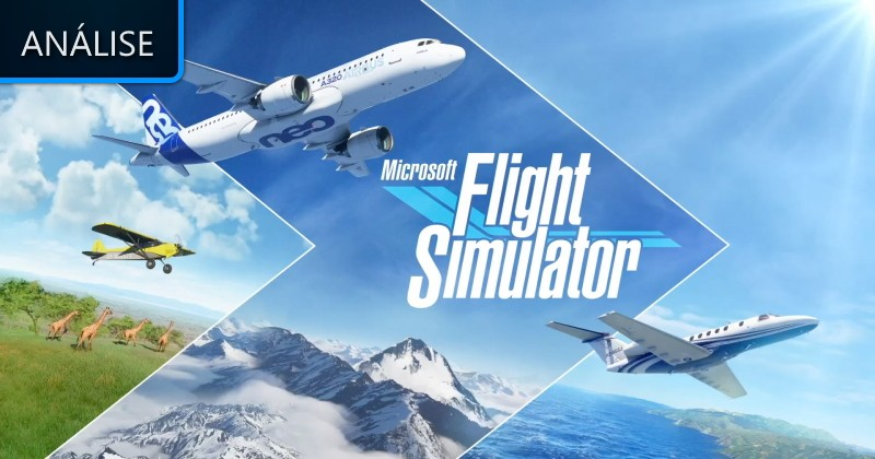 Análise: Microsoft Flight Simulator - Lenda Games