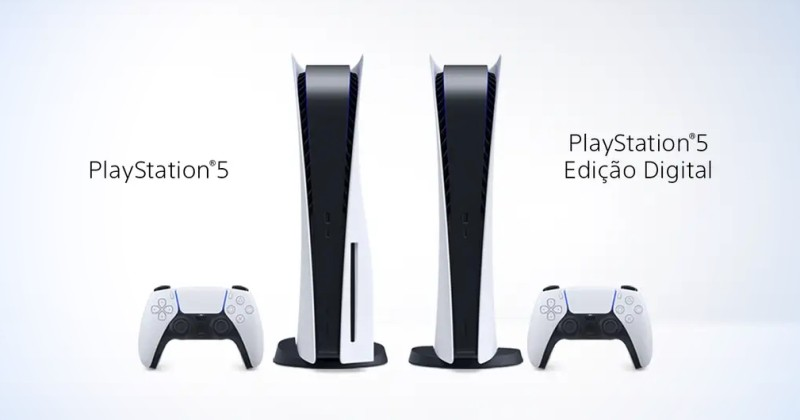 PlayStation 5 será lançado em novembro no Brasil por R$4,499 e R$4,999!